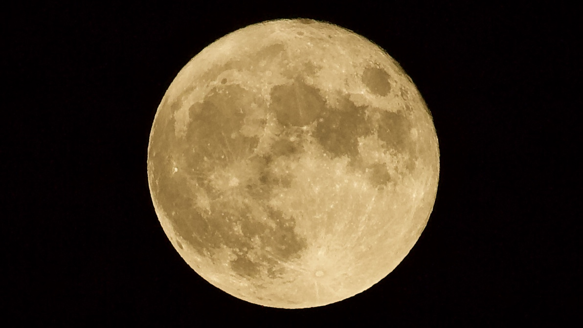 August's full Sturgeon moon